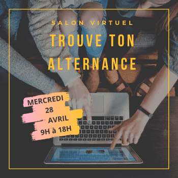 "Salon virtuel ""Trouve ton alternance"""